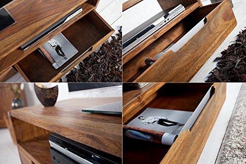 Invicta Interior 35869 TV Lowboard Goa 130cm, Sheesham