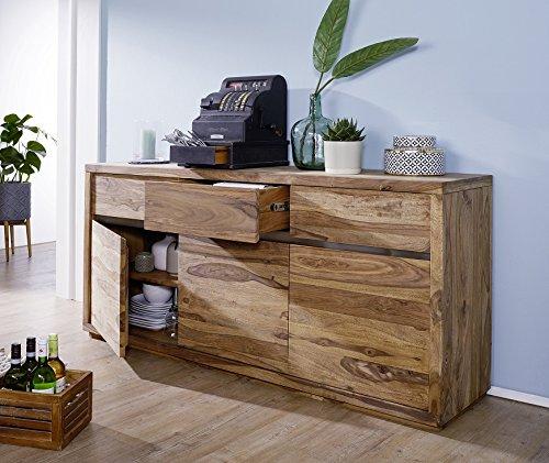 Main Möbel Sideboard 175cm Panama Sheesham Massiv