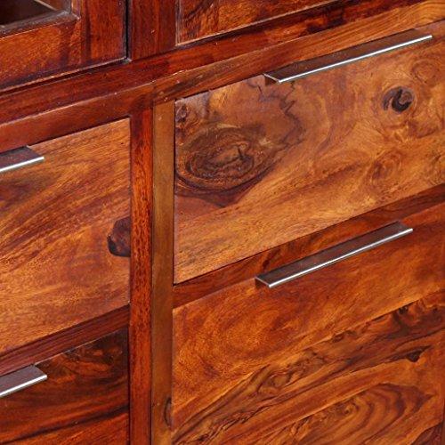 Furnituredeals Sideboard Sheesham Holz massiv 100x 35x 140cm.Diese Anrichte sind aus Hochwertige Materialien, sind sehr robust und langlebig. Montage sind sehr leicht.