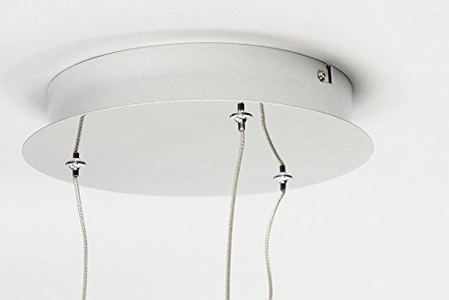 Höhenverstellbare LED Design HÄNGELEUCHTE VITREA / stilvoll und elegant / Blickfang für Ihr Zuhause