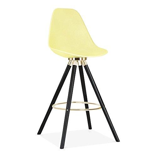 Cult Design Moda Barhocker mit Rückenlehne CD2 - Zitrone