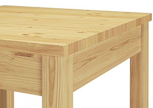 90.70-53 Set Schöne Essgruppe mit Tisch und 4 Stühlen Kiefer Massivholz Esstisch