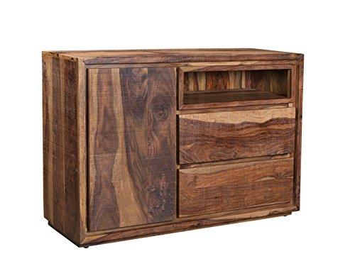 Woodkings Sideboard Blackdale Massivholz Palisander, Anrichte Design Kommode Schubladen, Sheesham Massiv Holzmöbel