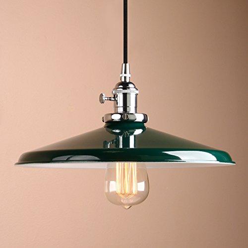 Pathson Industrie Loft-Pendelleuchte Antik Deko Design Deckel Metall Schirm innen Pendelleuchte Hängeleuchte Vintage Hängelampen Hängeleuchte Pendelleuchten