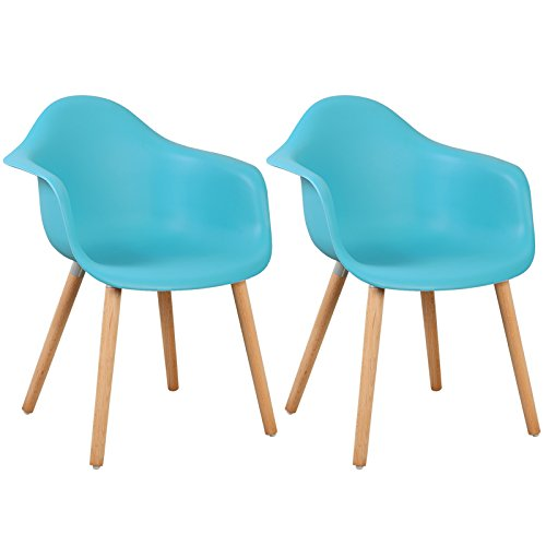 retro stuhl woltu 980 esszimmerst hle 2er set. Black Bedroom Furniture Sets. Home Design Ideas