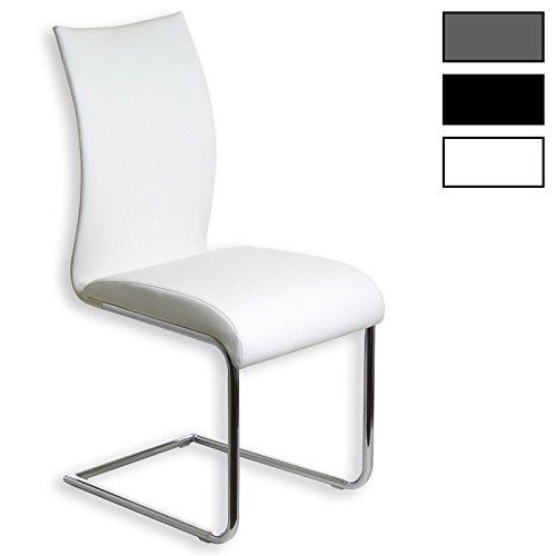 IDIMEX Freischwinger Schwingstuhl Esszimmerstuhl ALADINO, Set mit 4 Stühlen, 4er Set, Farbauswahl