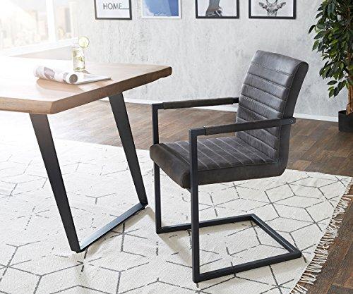 Küchenstuhl Earnest Vintage Freischwinger Design Stuhl