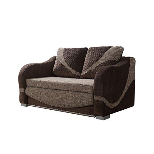 Mirjan24  Schlafsofa mit Bettkasten Tina! Couch Sofa mit Schlaffunktion, Funktionsofa, Modern Still Polstersofa, Wohnzimmer, (W-69 + Berlin 03)