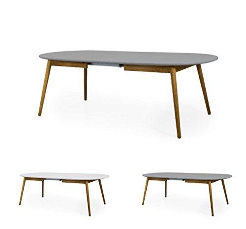 Tenzo Dot Designer Esstisch, Oval, Inklusiv Einer Einlegeplatte