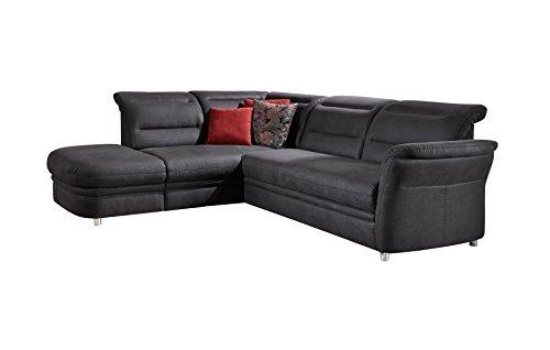 avadore Eck-Sofa Bontlei/Schlaf-Couch mit Ottomane und Federkern