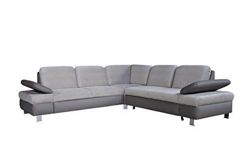 Mb Moebel Ecksofa Mit Schlaffunktion Eckcouch Mit Bettkasten Sofa Couch Wohnladschaft L Form Polsterecke