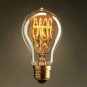 Neverland E27 40W 50V-220V Edison Lampe Filament Glühlampe Retro Licht