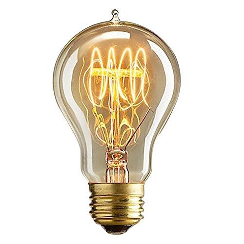 rokoo Retro Vintage A19220V 60W E27Tungsten Filament Edison Licht Glühbirne Edison Lampe