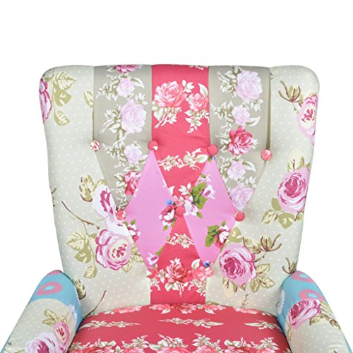 Anself Relaxsessel Sessel Polstersessel Clubsessel Loungesessel Patchwork Bund 3 Typ Optional