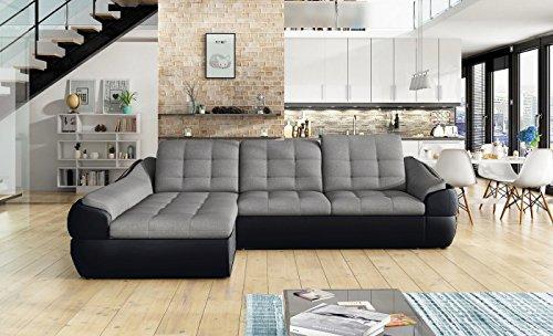 Ecksofa Infinity Mini mit Schlaffunktion Sofa Couch Schlafsofa Polsterecke Bettfunktion