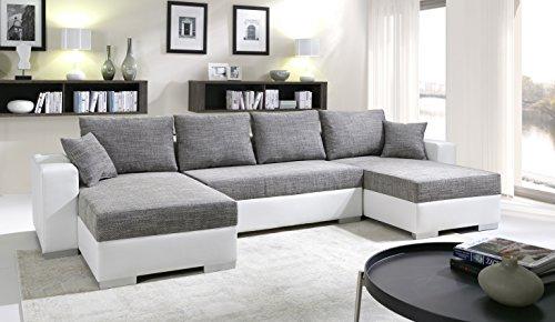 Sofa Couchgarnitur Couch Sofagarnitur TIGER 4 U Polstergarnitur Polsterecke Wohnlandschaft mit Schlaffunktion